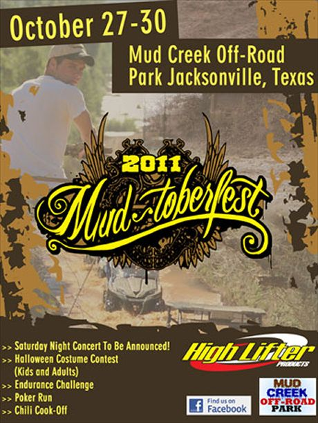 Post image for Mud-tober Fest 2011- Mud Creek Off-road, Park Jacksonville, Texas