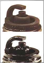 spark plug dry/wet fouling