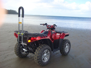 Thumbnail image for ATV opponents ask federal safety agency to require ATV seatbelts and rollbars