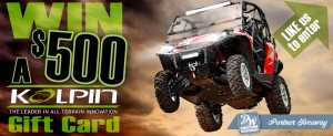 Thumbnail image for Kolpin Power Sports Giving Away a $500 Gift Card